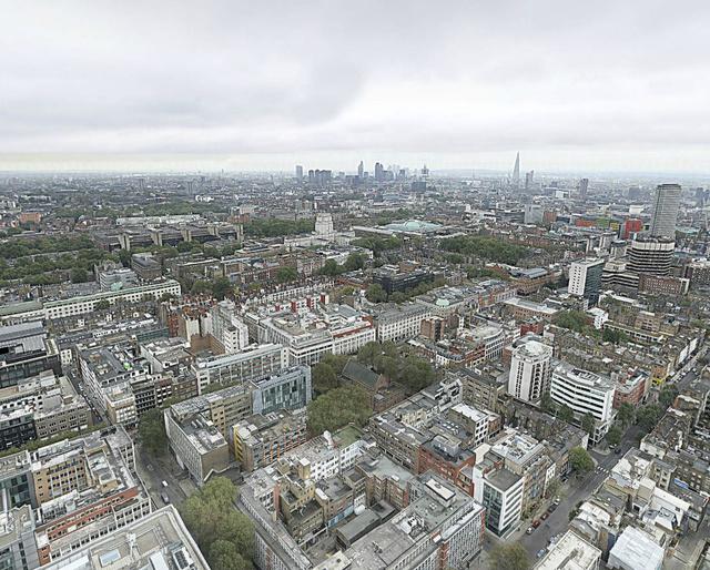 Nézzen körül London tetejéről - kattintson!