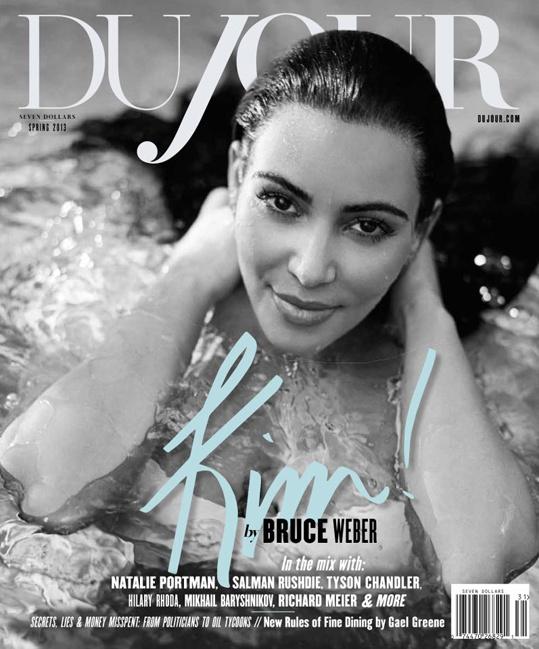 Kim Kardashian a Dujour magazinban - kattintson!