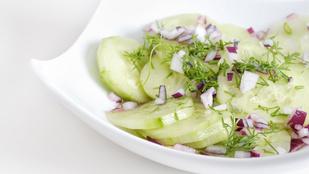 Teszt: így lesz a legfinomabb az uborkasaláta