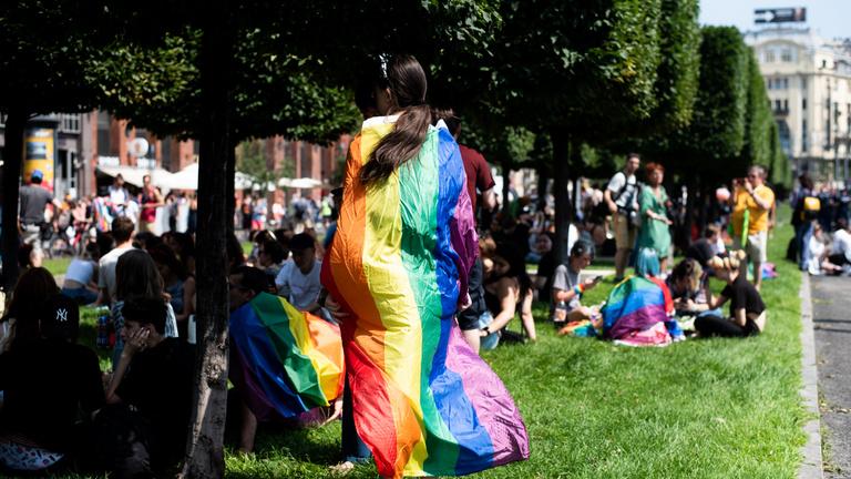 """""""A buziknak varázserejük van"""" – így zajlott a 26. Budapest Pride"""