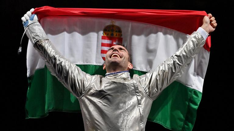Történelmi tripla: Szilágyi Áron ismét olimpiai bajnok!