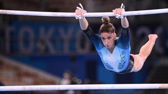 A tornász Kovács Zsófia döntőbe jutott az olimpián