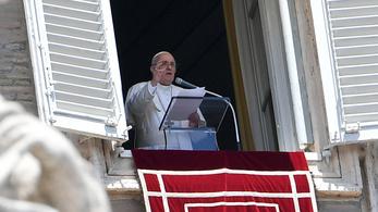 """Ferenc pápa: A mostani a """"mindent eldobunk"""" kultúrája"""