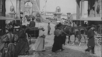 Filmtörténeti szenzáció: digitalizálva láthatjuk a Lumière fivérek filmezte Budapestet