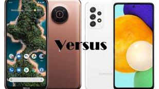Nokia X20 vs Galaxy A52 5G