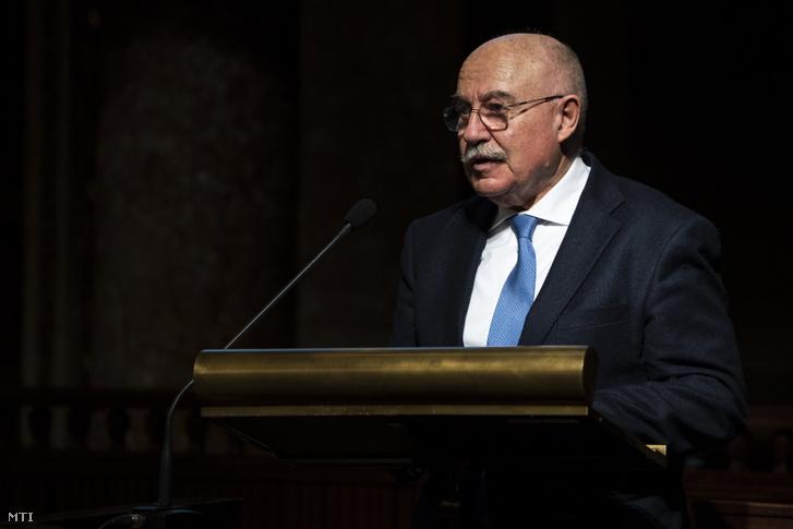 Martonyi János, a Szegedi Tudományegyetem professor emeritusa