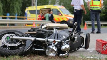 Két motoros halt szörnyet Böhönyénél és Celldömölknél