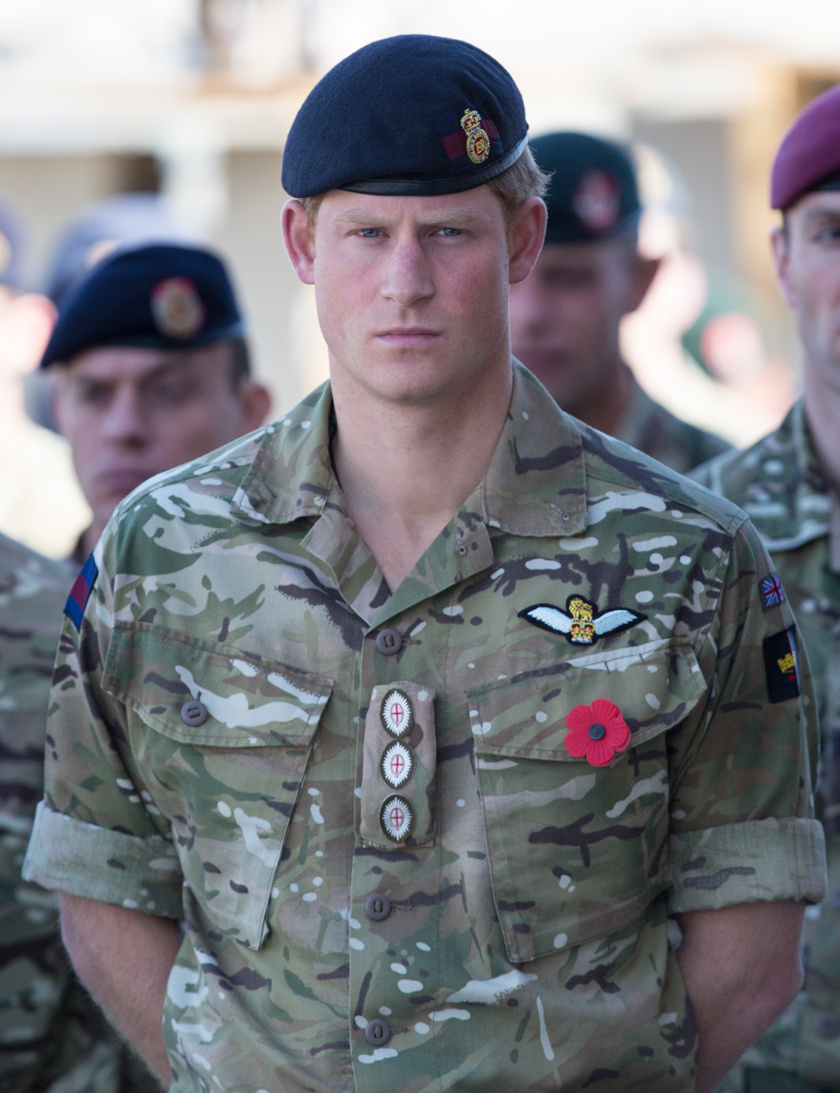 Harry herceg katonatársai is aggódnak a botránykönyv miatt.