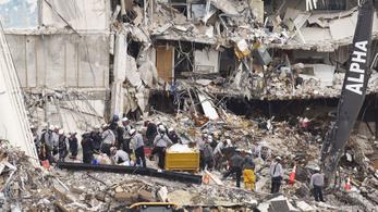 Minden áldozatot megtaláltak az összeomlott társasház romjai alatt