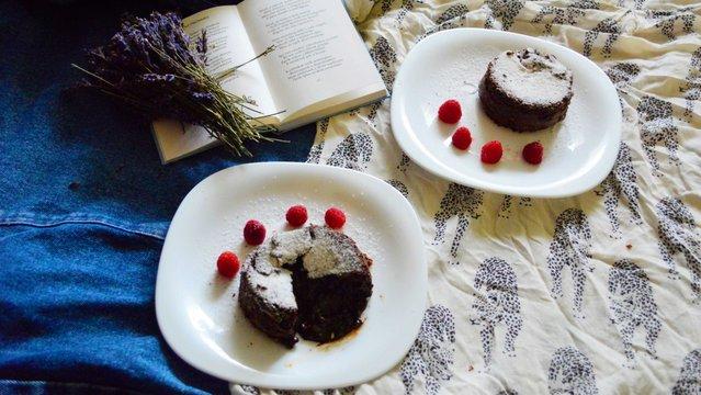 Láva torta