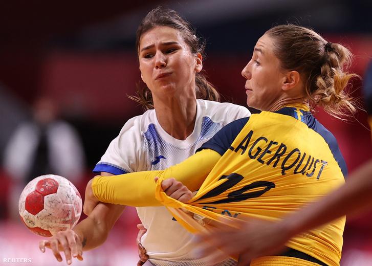 Oroszország–Svédország kézilabda-mérkőzés