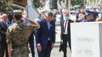 A szerbek befeszültek, éleződik a helyzet Boszniában