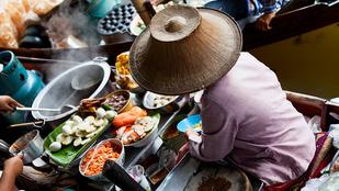 Thai salátahajó darált hússal – szénhidrátszegény, egzotikus finomság