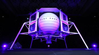2 milliárd dollárt ajánl Bezos a NASA-nak, hogy esélyt kapjon a Blue Origin a Holdon