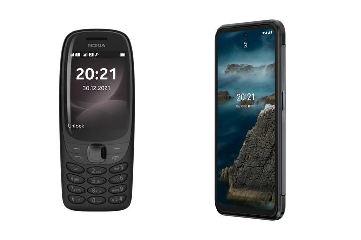Nokia 6310 és Nokia XR20 telefonok
