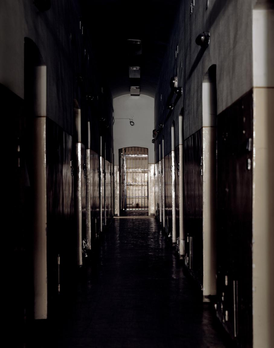 Részlet a Conti utcai KATPOL börtönből. Itt raboskodott többek között Mindszenty                          József bíboros és id. Rajk László kommunista politikus is. Rajkot egy gyors koncepciós                          pert követően végeztek ki a börtön udvarán 1949. októberében.