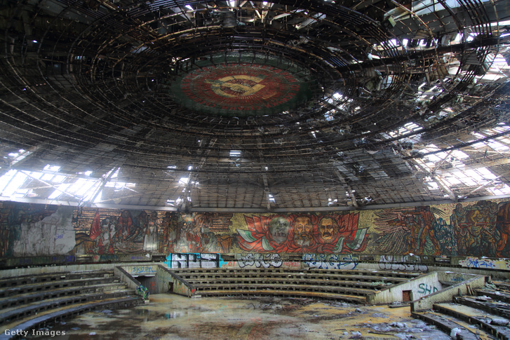 A bolgár Kommunista Párt volt központja belülről