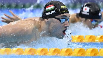 Milák olimpiai bajnok, Hosszú csak hetedik, éremért vívnak a férfi kardozók