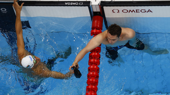 Milák Kristóf olimpiai bajnok lett 200 pillangón