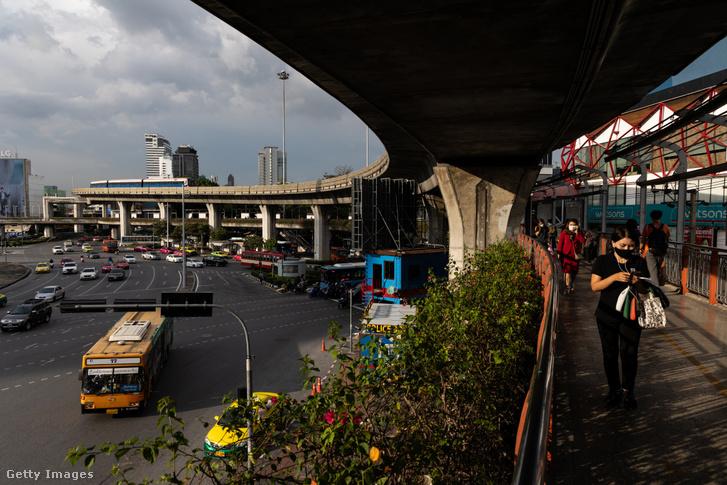 Állomás Bangkokban