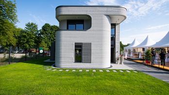 Itt van Németország első, 3D betonnyomtatóval épített háza