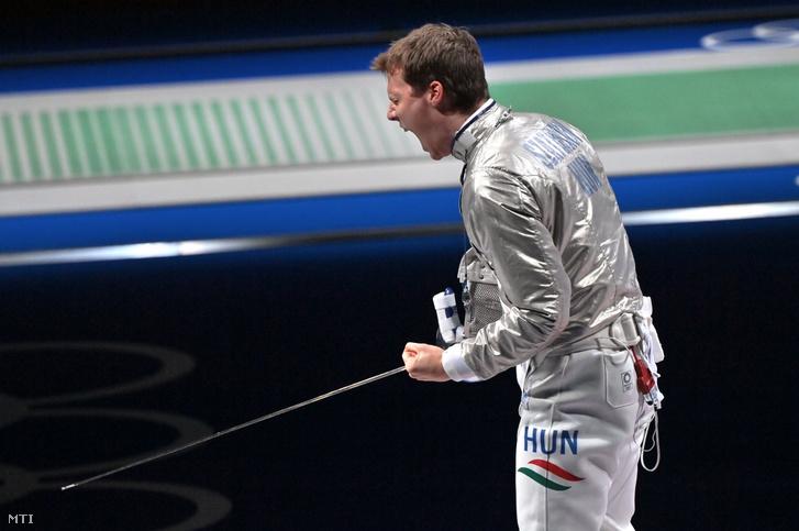 Szatmári András kiválóan vívott a bronzmeccsen