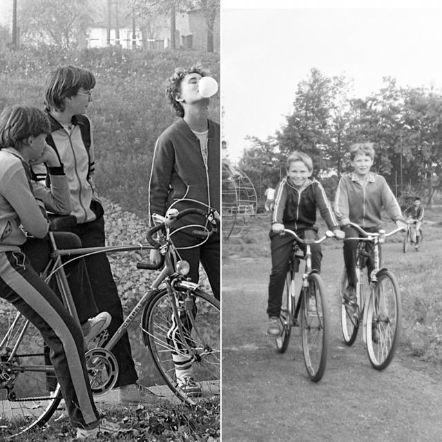 Amikor a bicikli volt a minden: így bandáztak a 70-es, 80-as években a gyerekek
