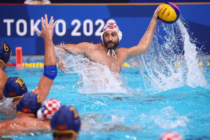 Javier Garcia Gadea a horvát csapat játékosa