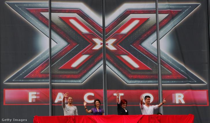 X-factor zsűritagjai 2007-ben Brian Friedman, Danii Minogue, Sharon Osbourne és Simon Cowell