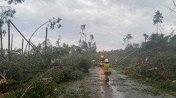 Már a környező országokban tarol a vihar, előbb-utóbb ide is elér