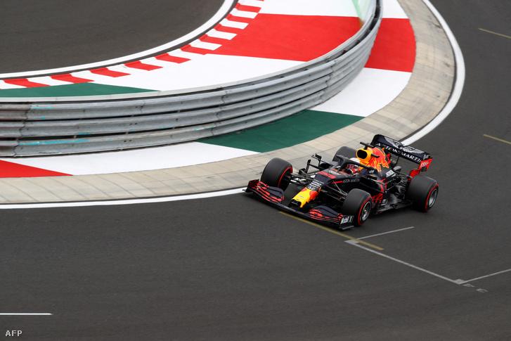 Max Verstappen nagyon szeret versenyezni a Hungaroringen