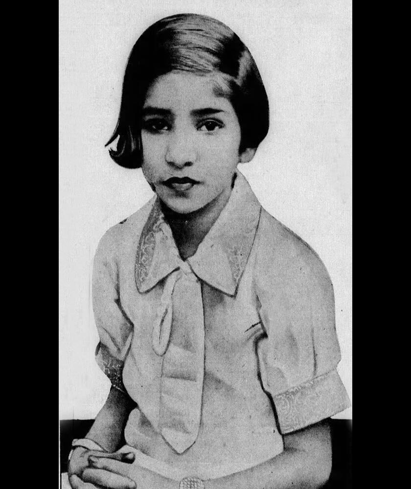 Shanti Devit így mutatták be egy lapban 1937-ben.