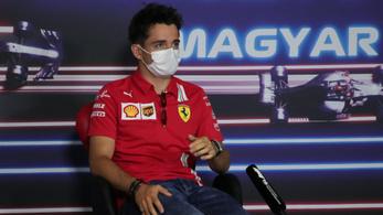 A Ferrari versenyzője az Indexnek: Bizakodva várjuk a Magyar Nagydíjat
