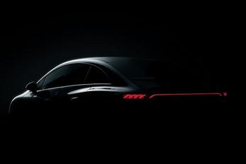 Előzetes az új villany-Mercedesről