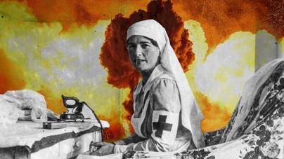 Önfeláldozó orvosok és betegek a háború forgószelében