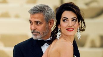 Állítólag megint ikrei lesznek George Clooney-nak