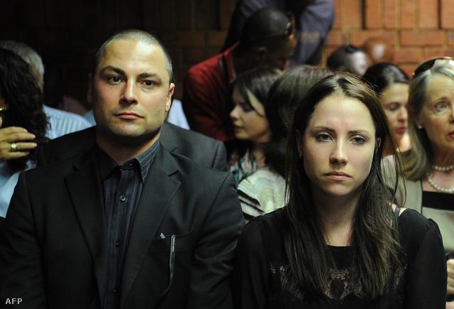 Carl és Aimee Pistorius