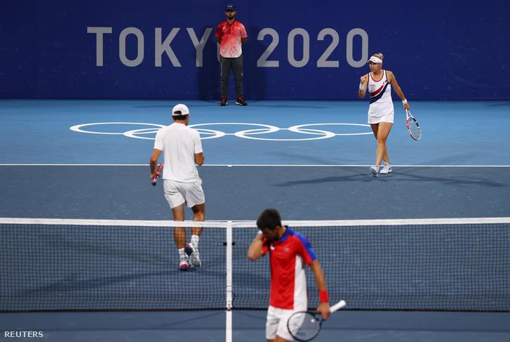 Novak Djokovics és Vesznyina–Karacev