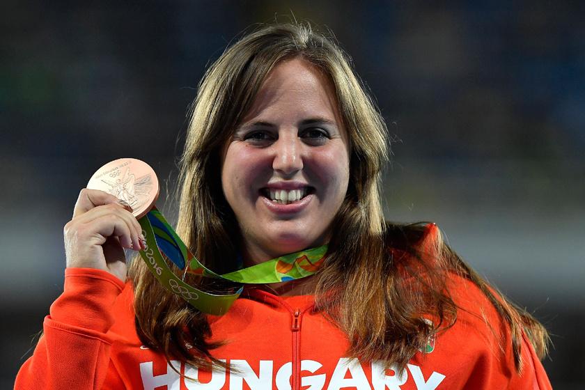 6 hónappal szülése után a tokiói olimpián: Márton Anita Rióban bronzérmet nyert