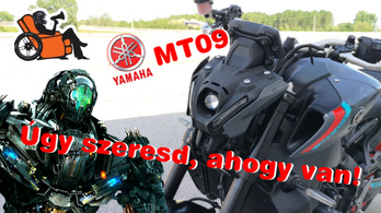 Fotelmotoros: Yamaha MT-09