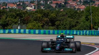 Magyar Nagydíj: Minimális előnyben a Mercedes a Red Bullhoz képest