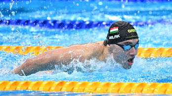 Milák újra az aranyért úszik