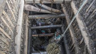 Nyolcvan kilós kék zafírt találtak egy drágakőbányában