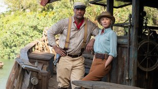 Dwayne Johnson & Emily Blunt dzsungelkalandja