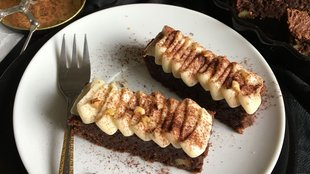 Különleges, alakbarát brownie