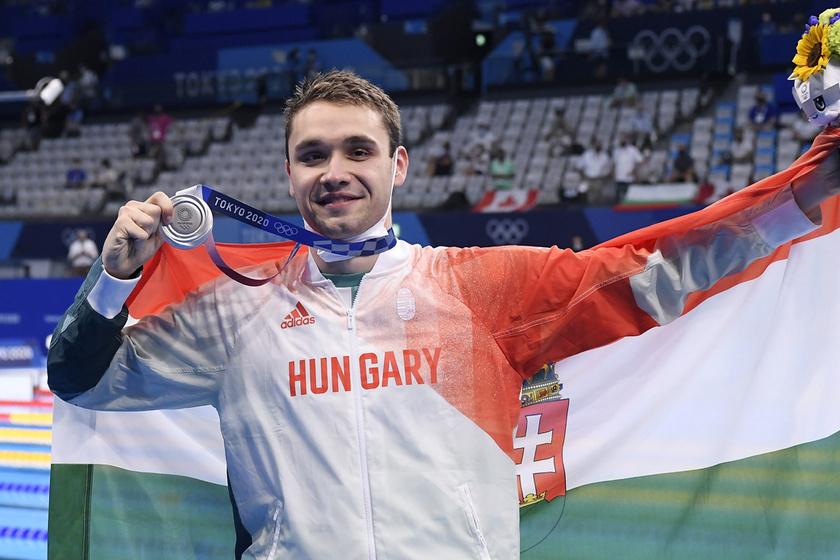 Milák Kristóf megszerezte 2. érmét: a 21 éves úszó ezüstöt nyert ma a tokiói olimpián