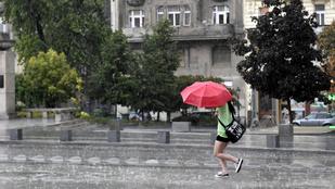 Itt a hidegfront és a nagy esők, de a hőségtől így sem szabadulunk