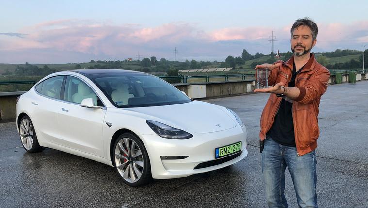 Tesla Model 3 Performance teszt normálisan és abnormálisan