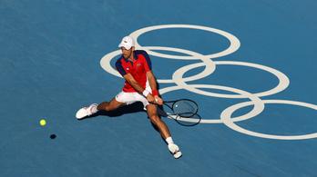 Még az érem sem jött össze Novak Djokovicsnak Tokióban