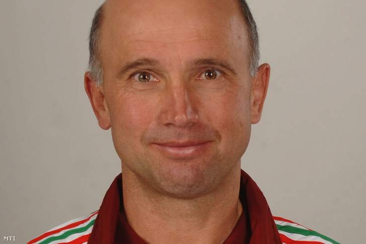 Selmeci Attila úszóedző 2008. március 12-én